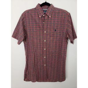 Polo Ralph Lauren Button Up Plaid Shirt